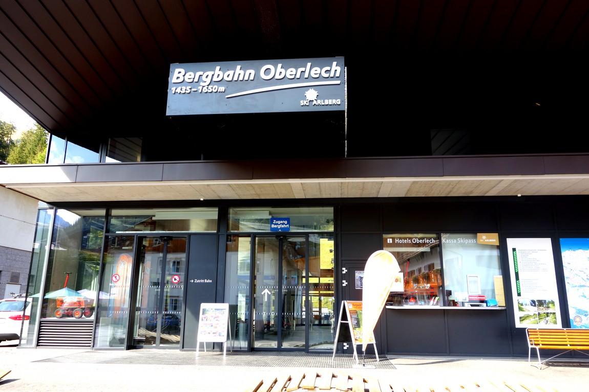 Станция канатной дороги Bergbahn Oberlech Австрия