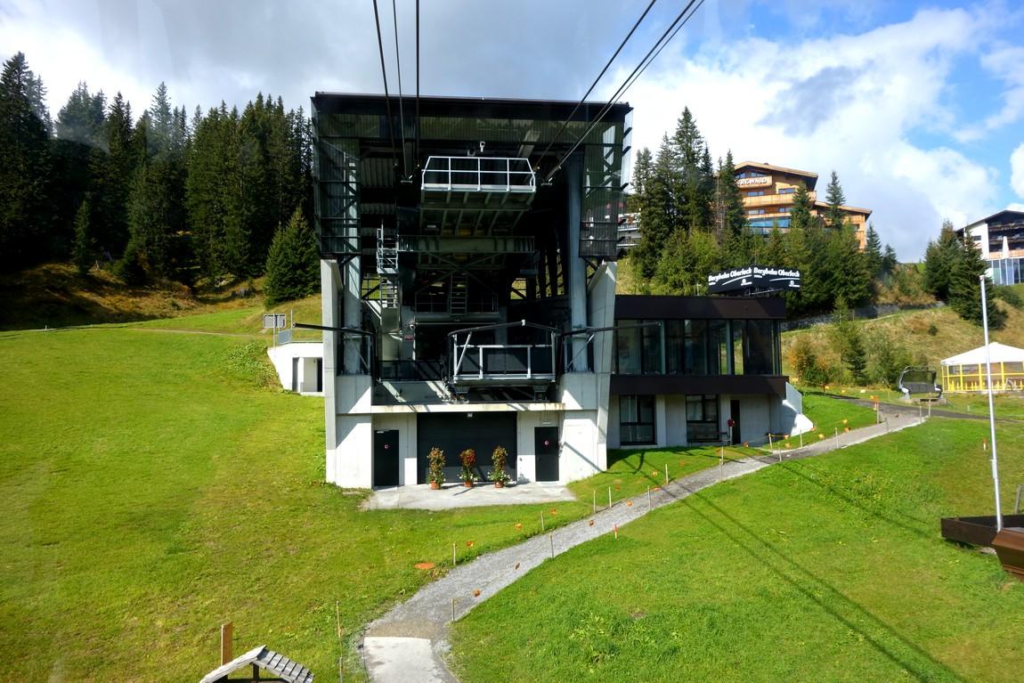 Канатная дорога Bergbahn Oberlech
