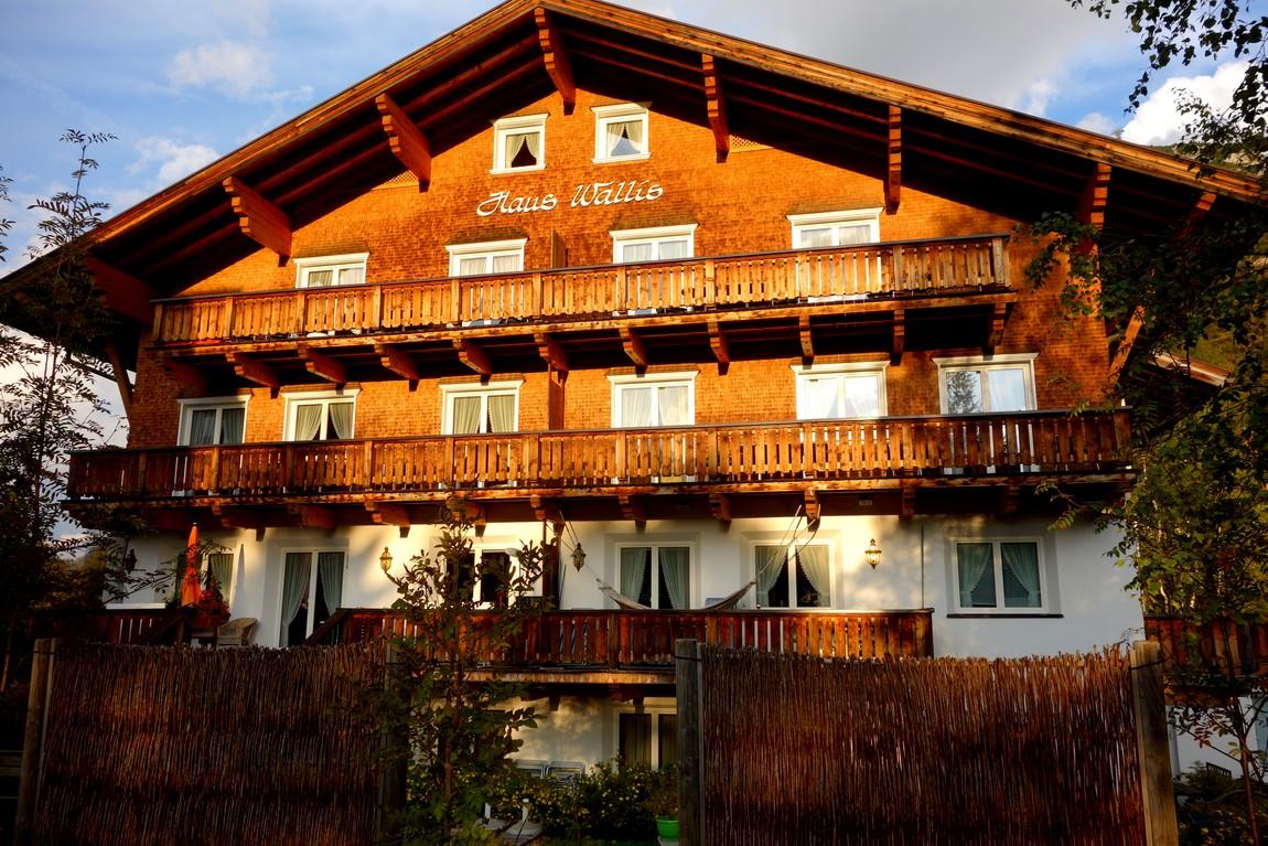 Посёлок Лех-ам-Альберг в Австрии - отель Haus Wallis