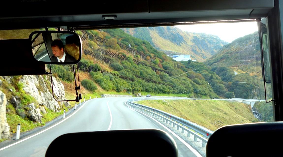 Дорога в Австрии