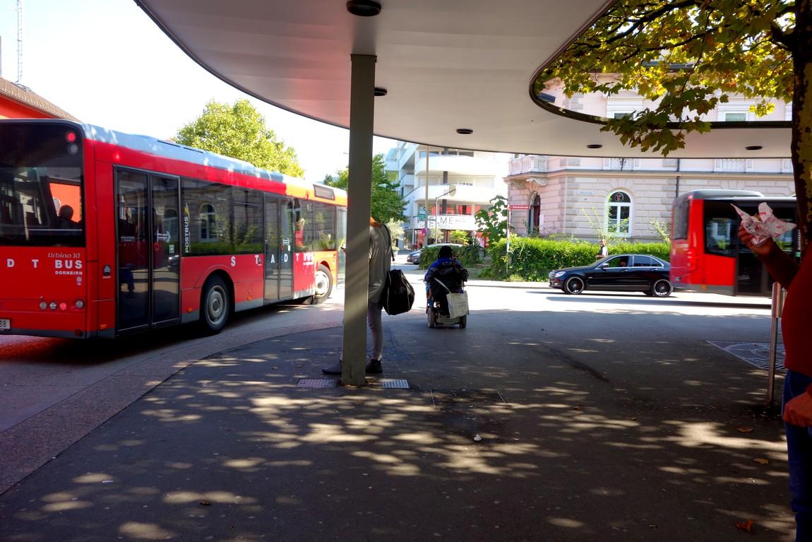 Дорнбирн - автовокзал (Австрия)