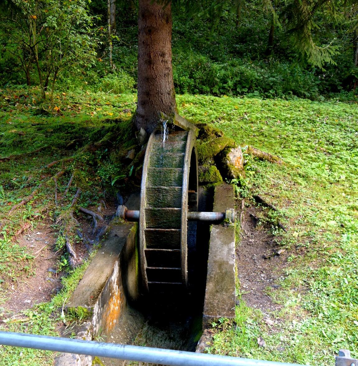 Водяная мельница на выходе из ущелья Альплох (Австрия)