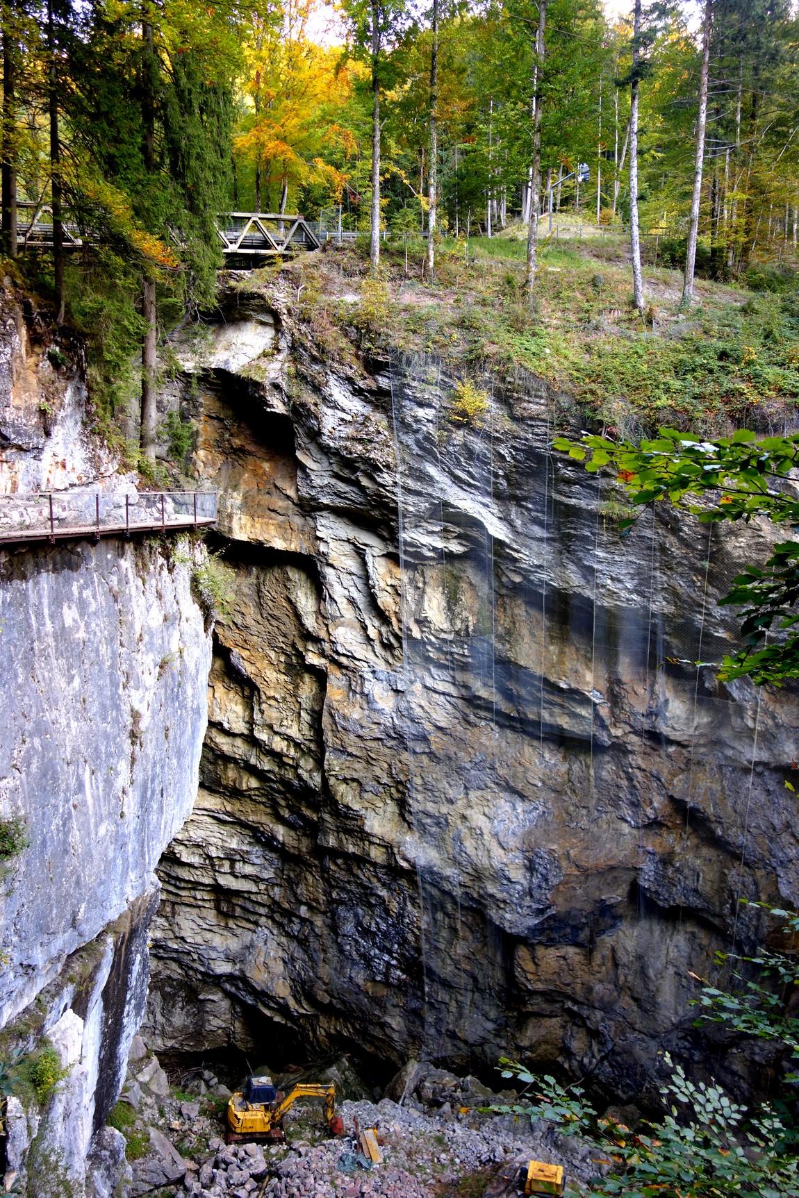 Глубокое ущелье Раппенлох (Австрия)