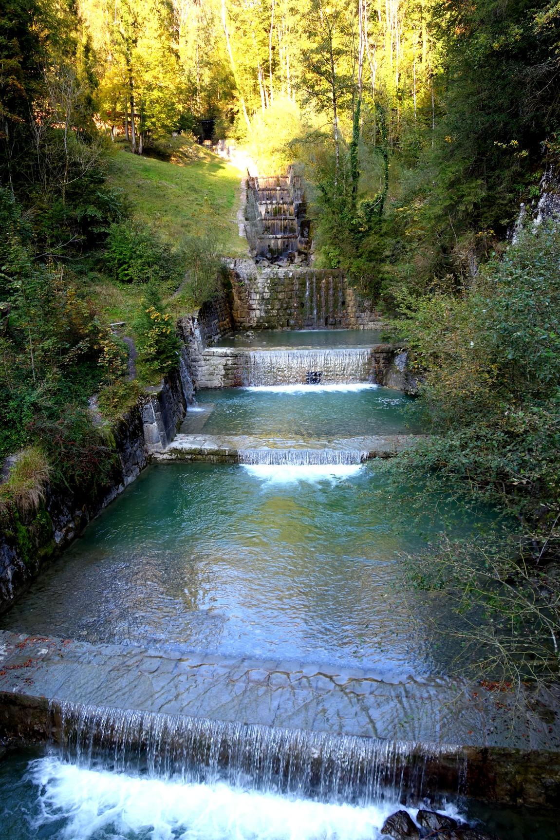 На выходе из ущелья Раппенлох (Австрия)