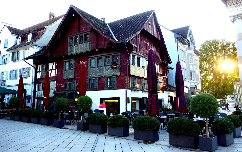 Красный дом -Дорнбирн (Австрия)