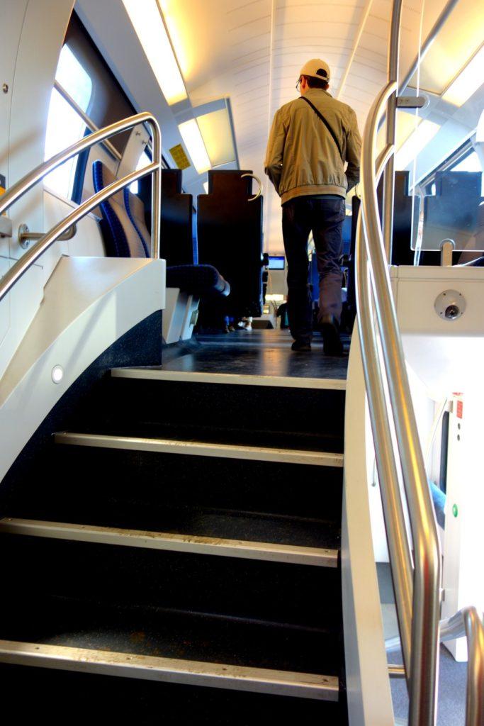 Поезда Австрии - второй этаж