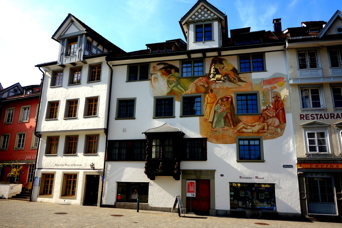 Швейцария - Санкт Галлен