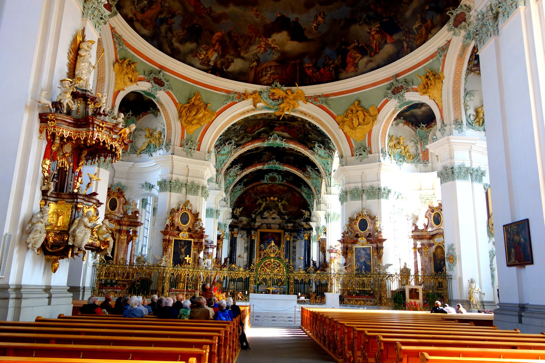 Швейцария - Санкт Галлен - храм Cathedral of St. Gallen