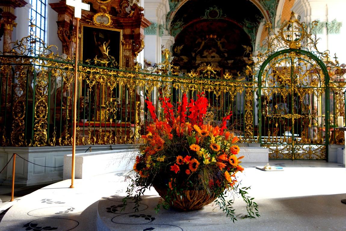 Cathedral of St. Gallen - храм в Санкт Галлен (Швейцария)