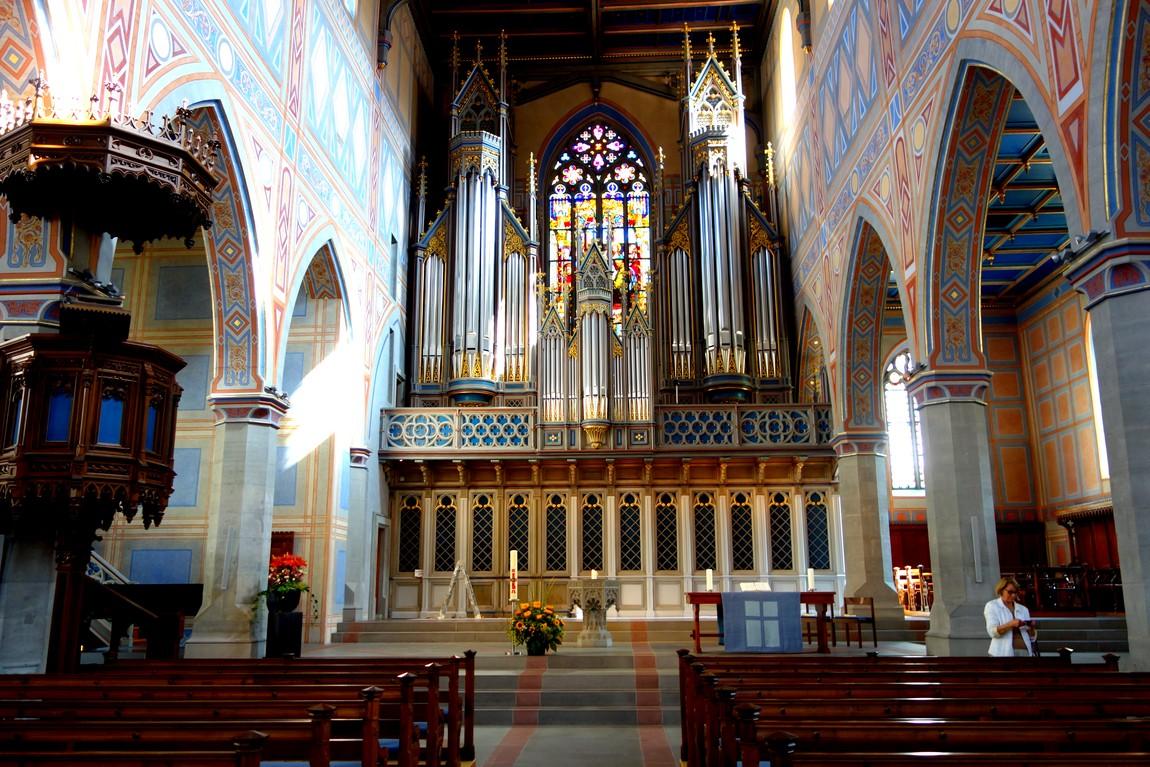 храм - Kirche St. Laurenzen в Санкт Галлен