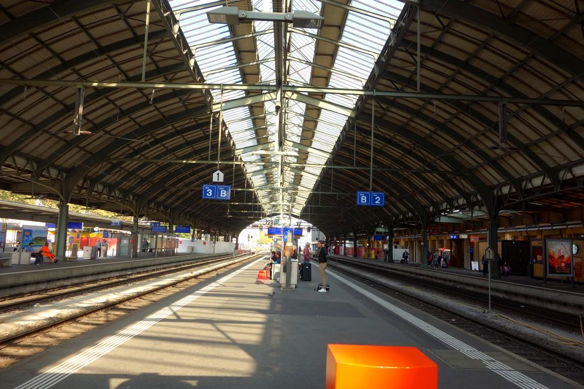Вокзал в Швейцарии - Санкт Галлен