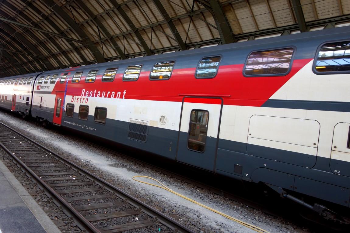 Двухъярусный поезд Австрии