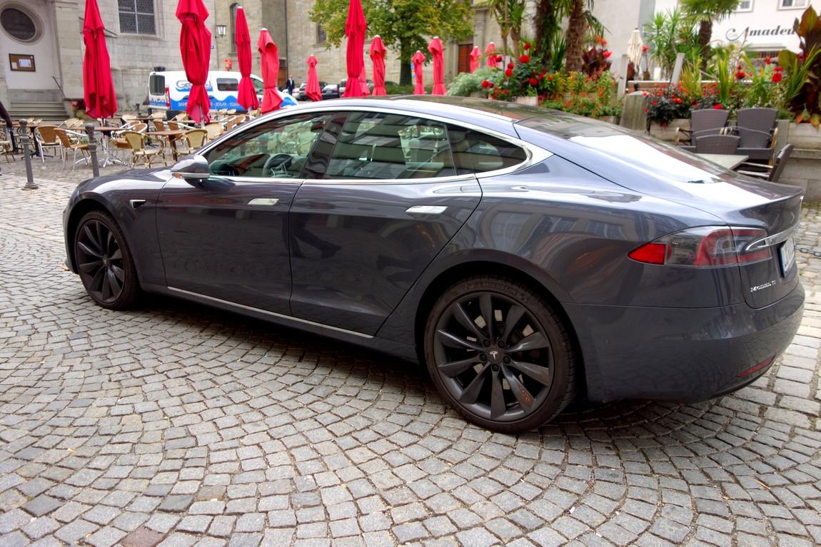 Электромобиль а Австрии