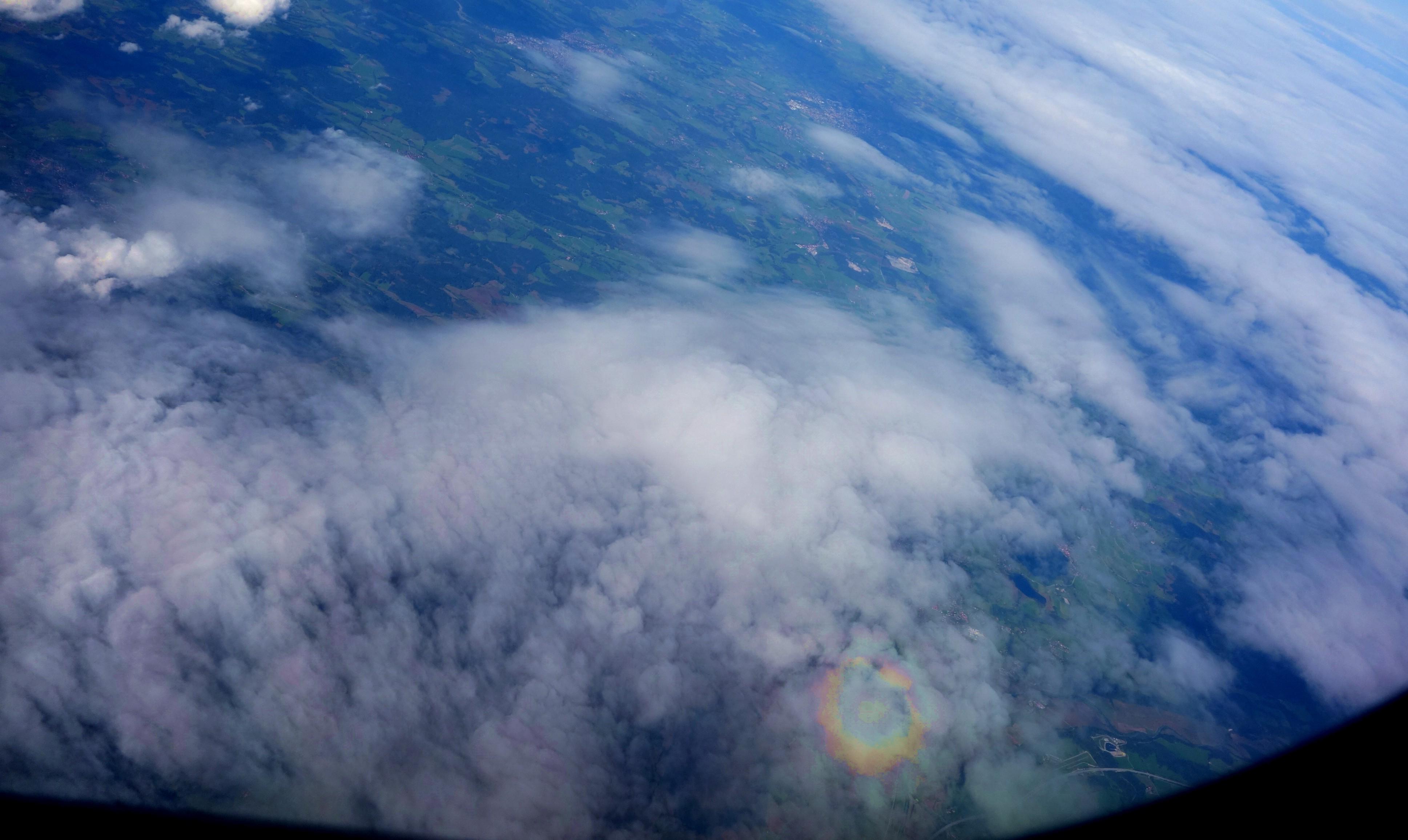 Радуга на облаках