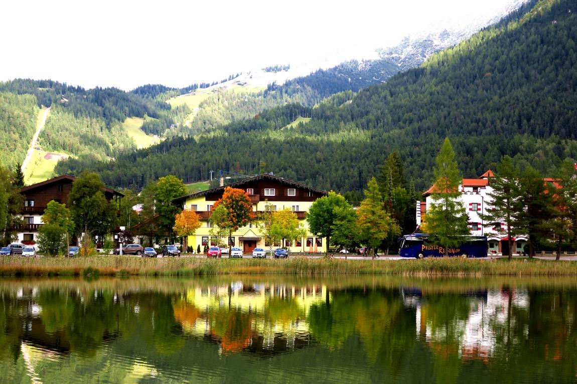 Озеро Вильдзе (Wildsee lake) - Зеефельд в Тироле