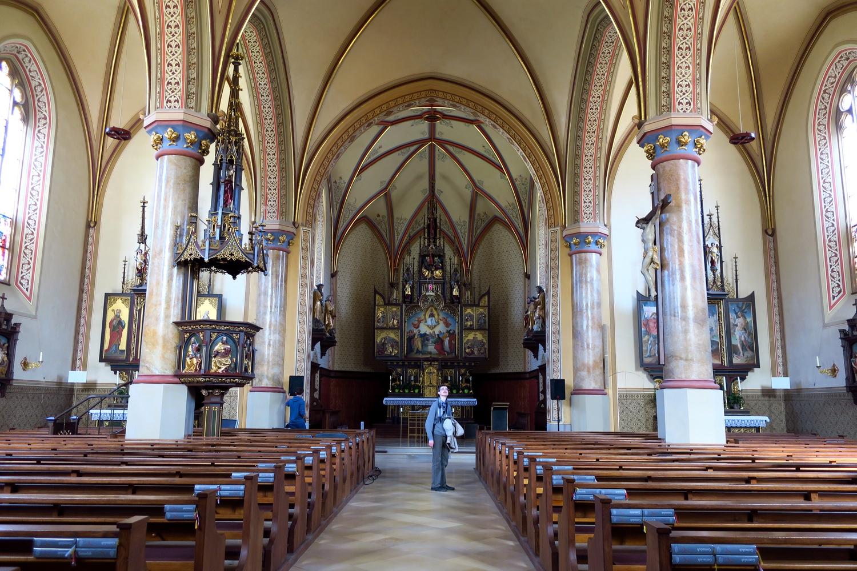 Гармиш-Партенкирхен (Германия) - приходская церковь