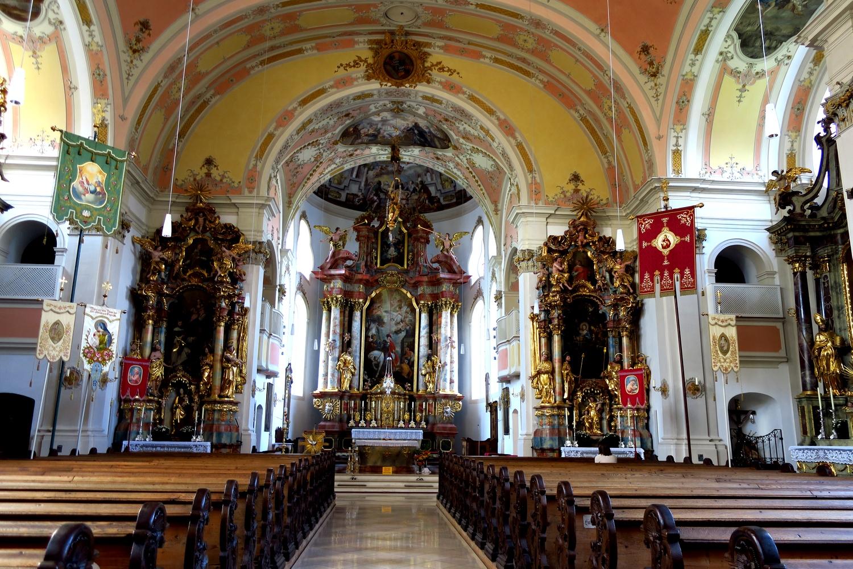 Гармиш-Партенкирхен (Германия) - церковь св Мартина