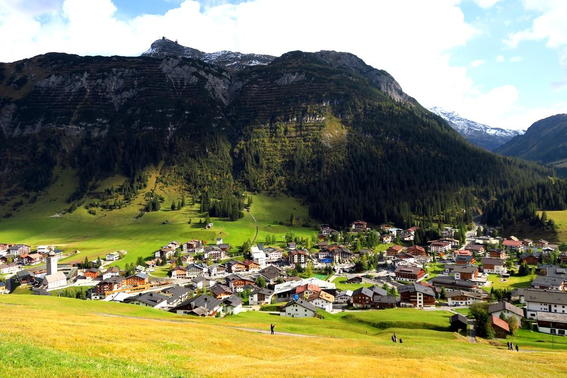 Посёлок Лех в Австрии