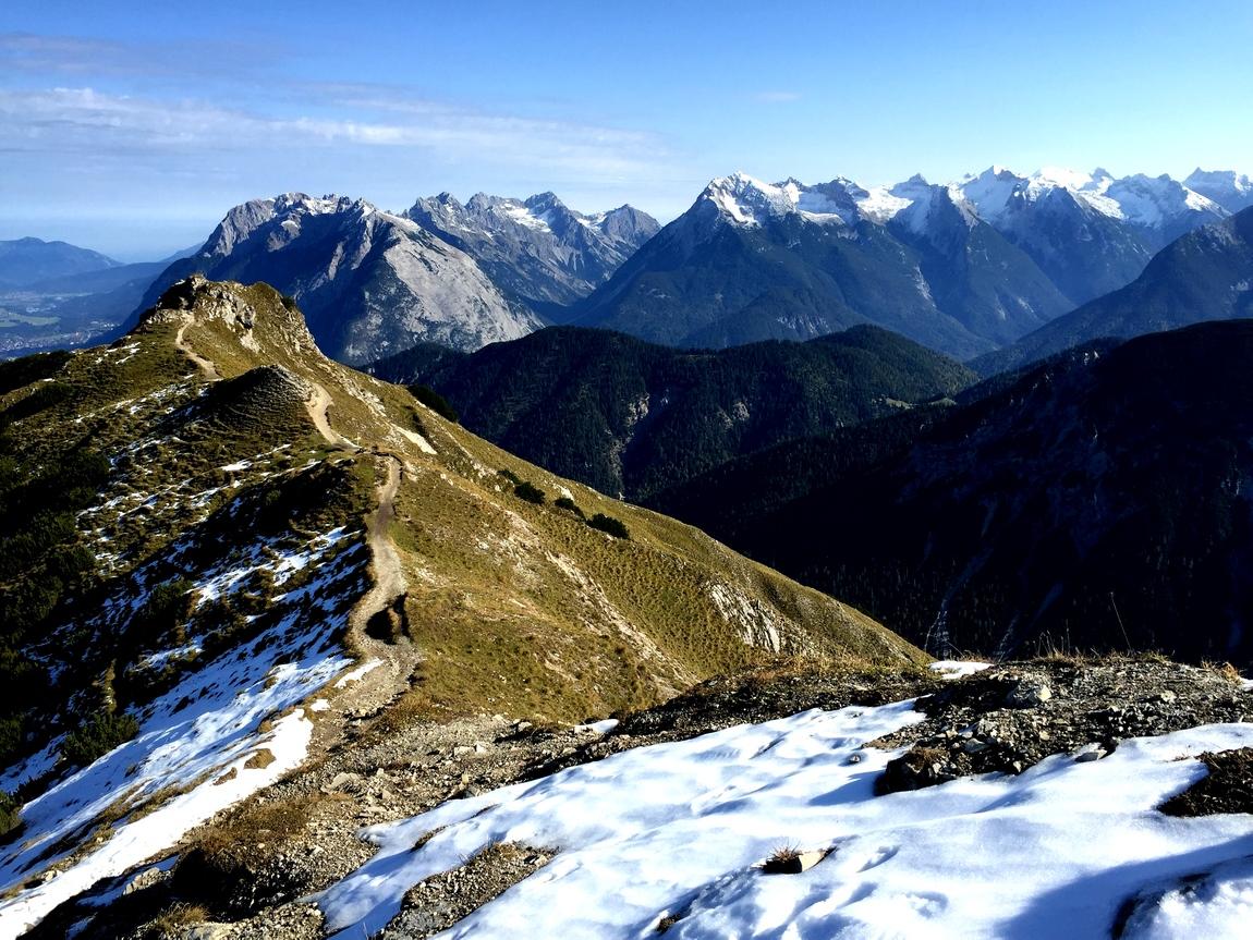 Гора Seefelder Spitze - Австрия