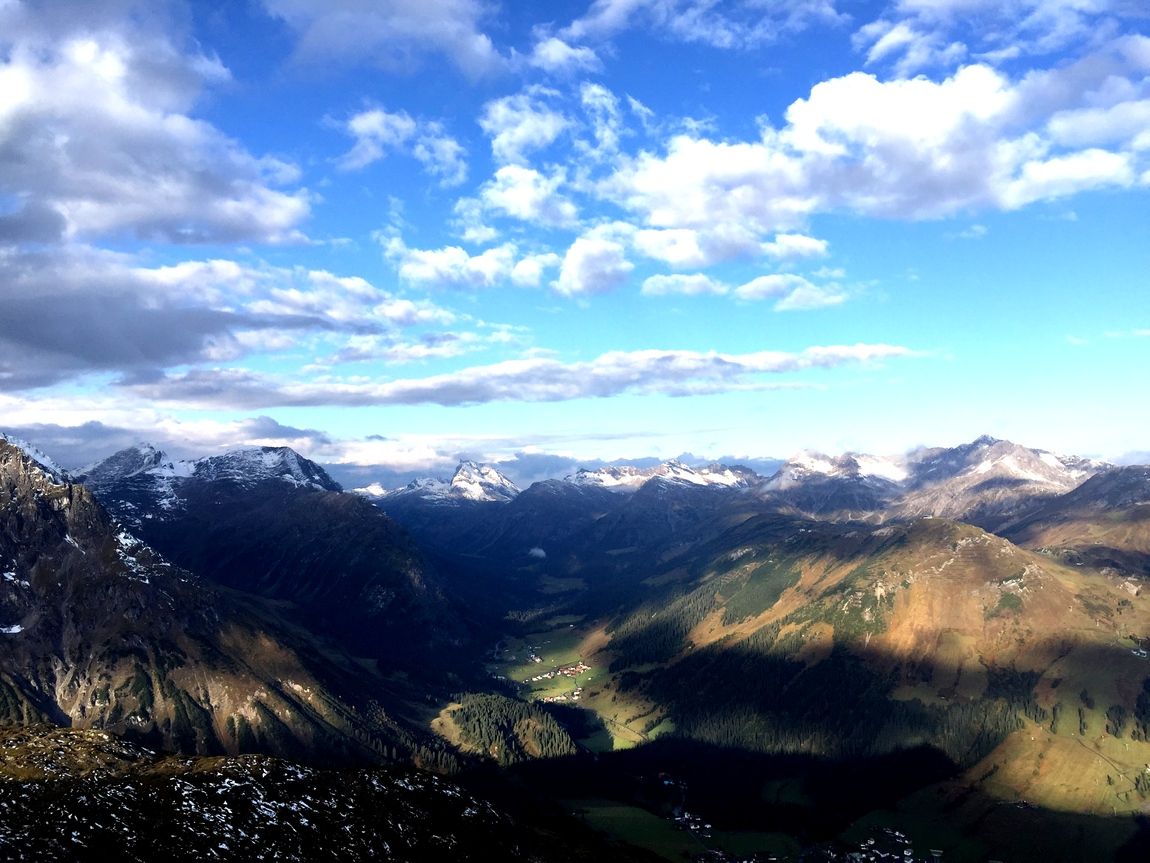 Панорама с горы Rüfikopf,