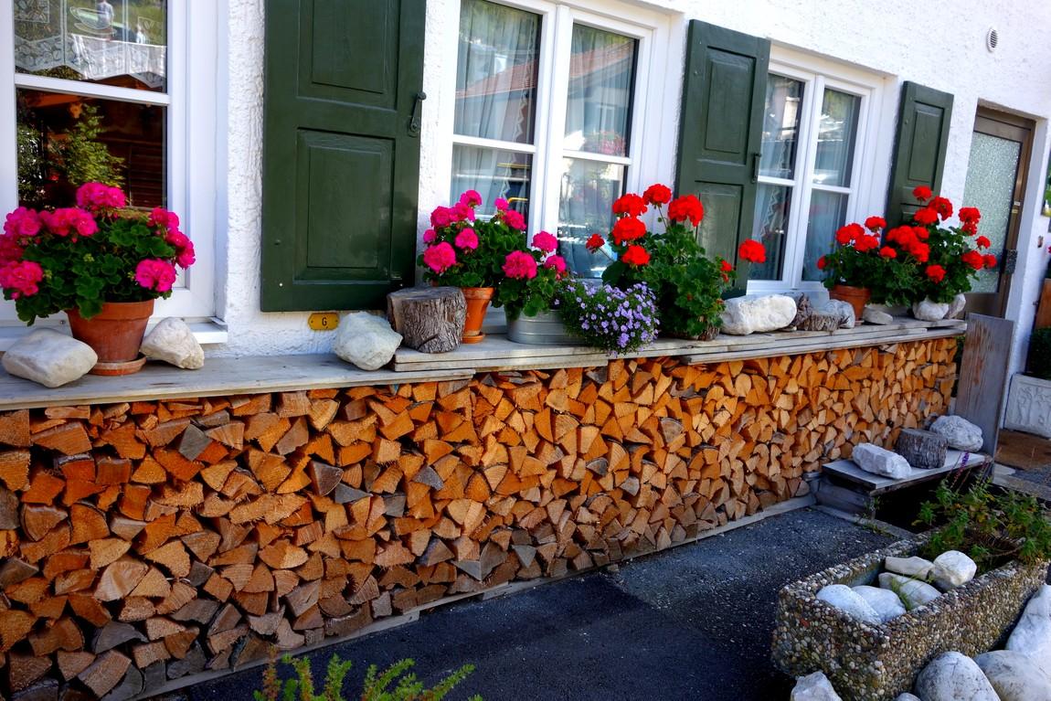 Декор оформления дома в Австрии