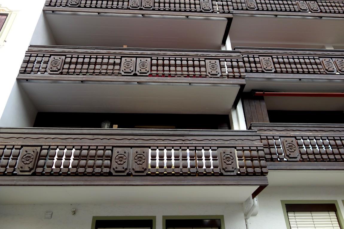 дизайн фасадов балконов Австрии