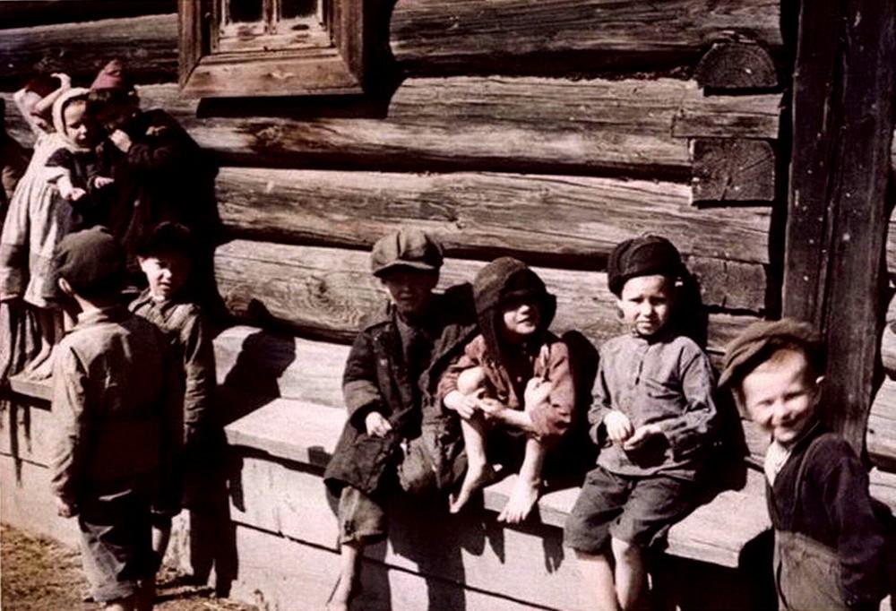 Детвора деревни 30-40 г