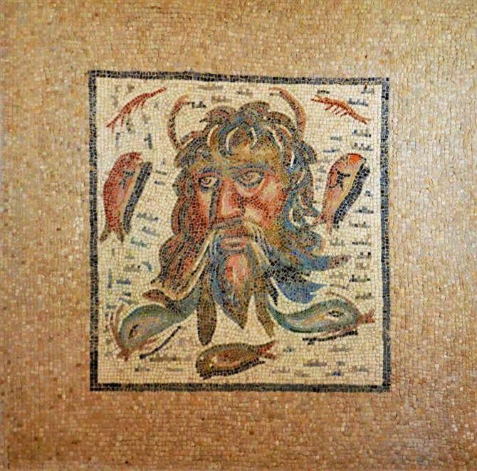 Крепость христианских королей Алькасар - мозаика