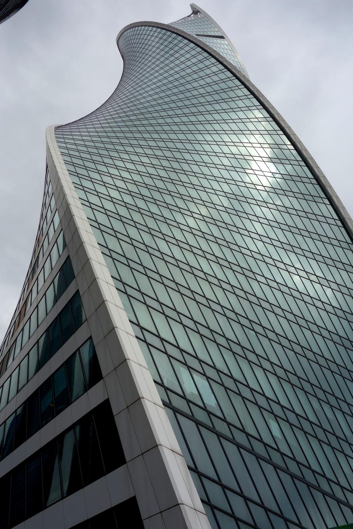 Здание Сити центра в Москве