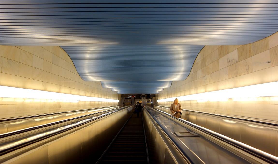 Новое метро у Сити-центра в Москве