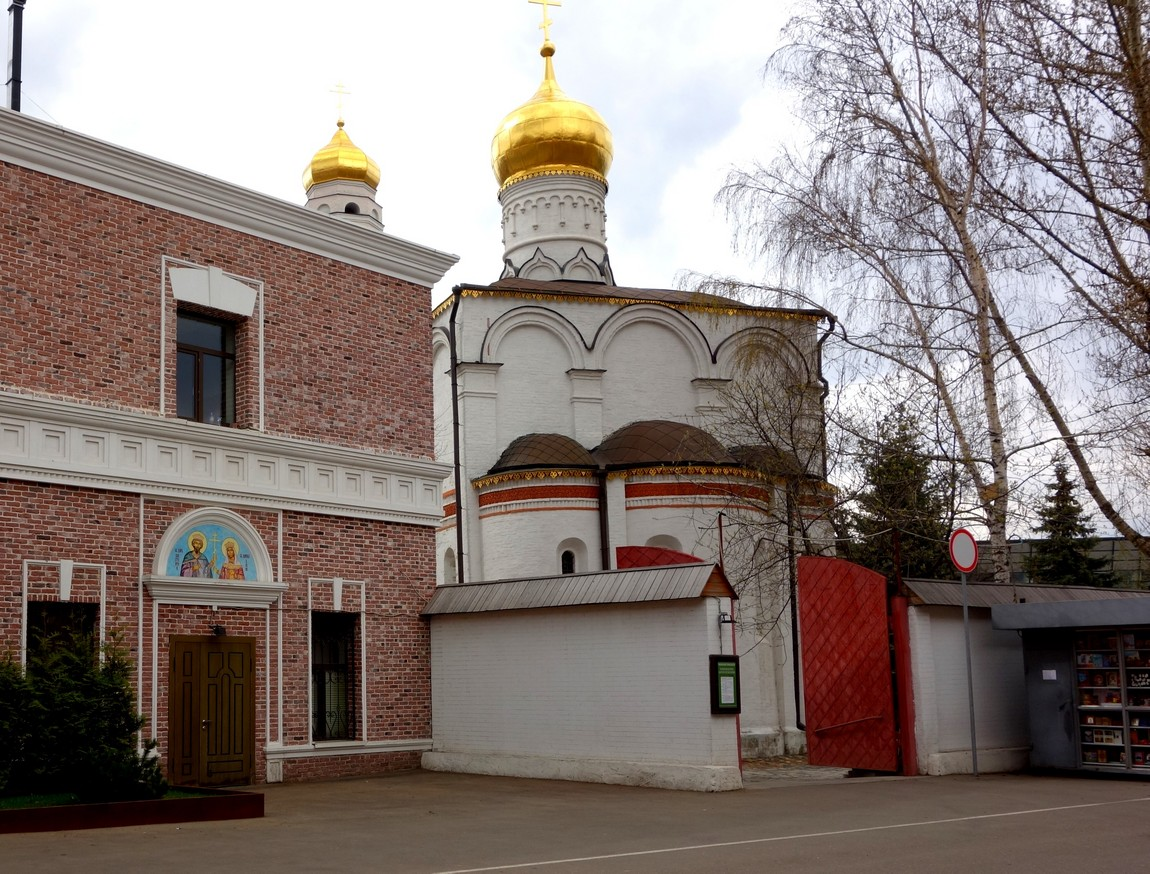 Храм в Москве где был Сергий Радонежский