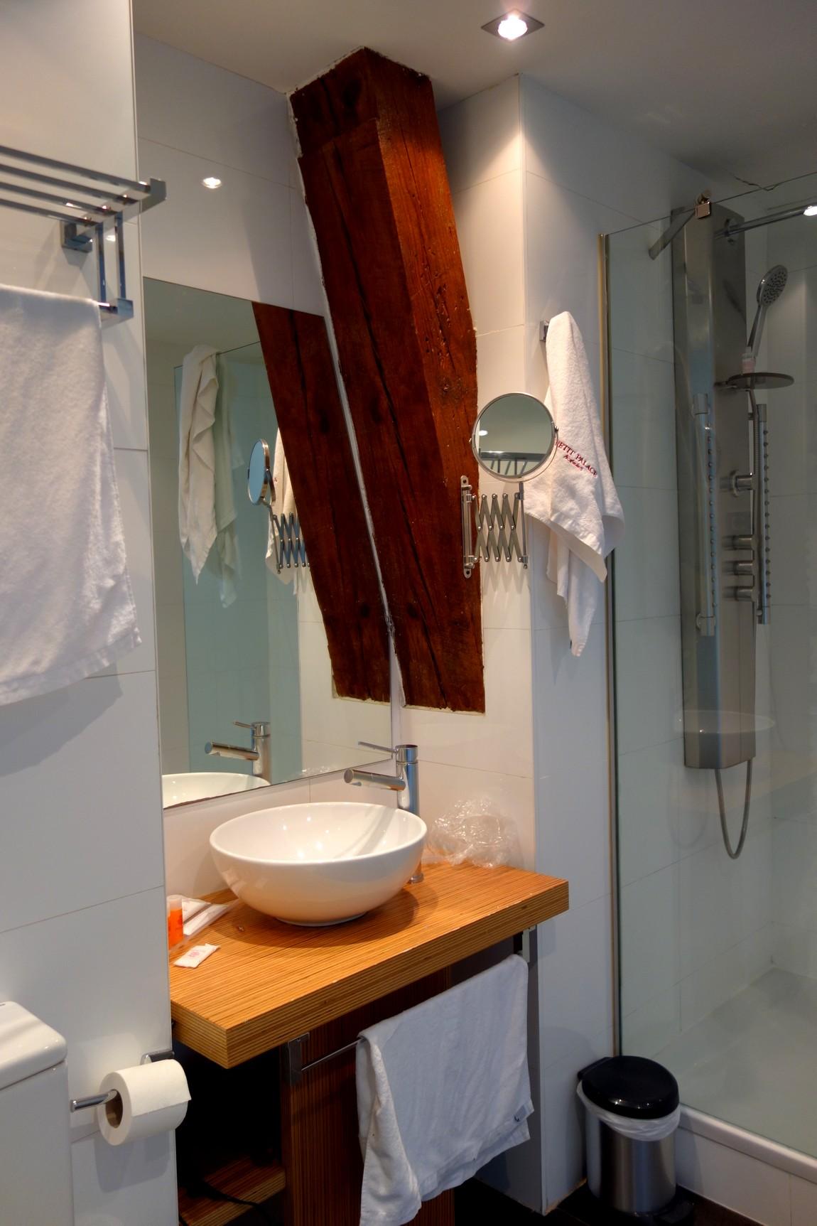Ванная комната номера в отеле Мадрида