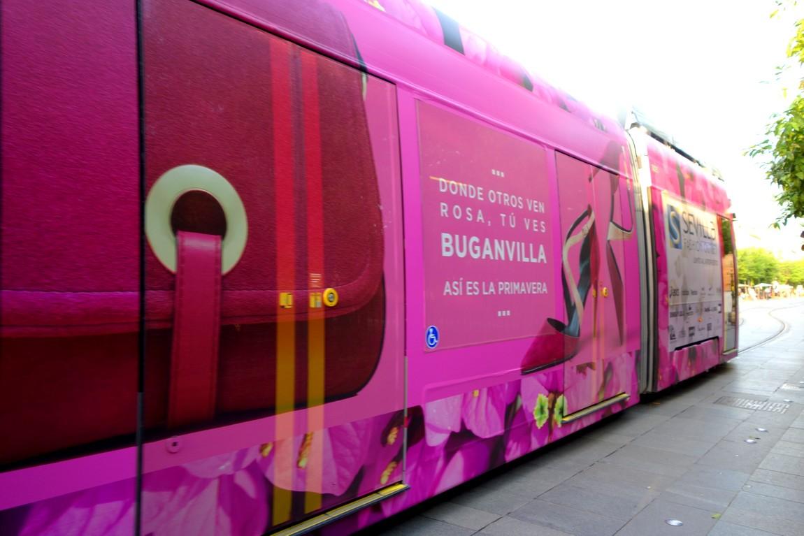 Трамвай в Севилье