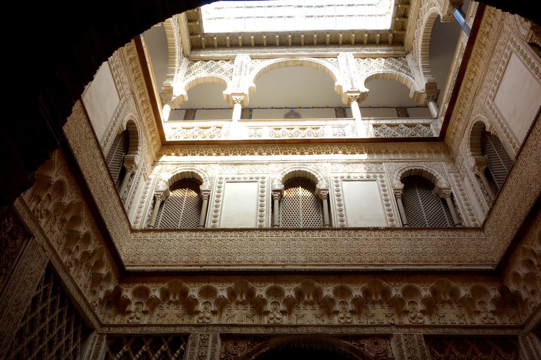 Севильский Алькасар (Испания) - кукольный дворик