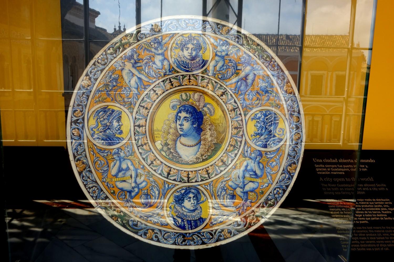 Севильский Алькасар (Испания) - посуда