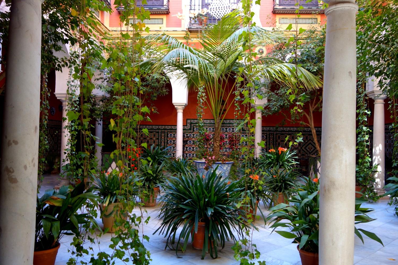 Севилья (Испания) - дворик патио
