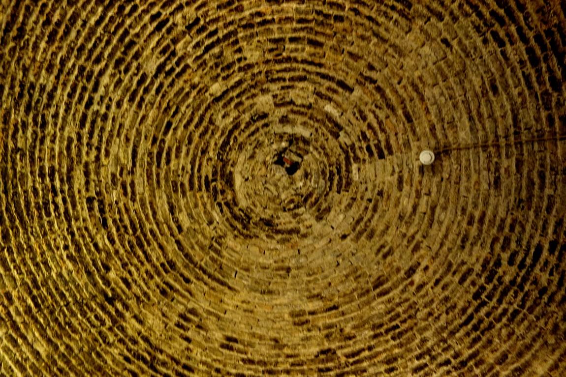 Саринный потолок в замке Испании