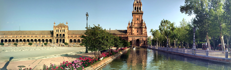 Парк Испании в Севилье