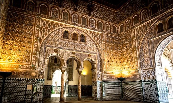 Севильский Алькасар (Испания) - зал Послов