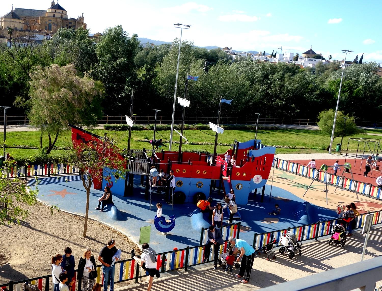 Игровая площадка в Кордове