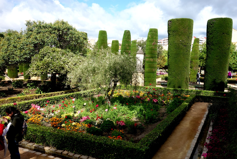 Сады Алькасар в Кордове