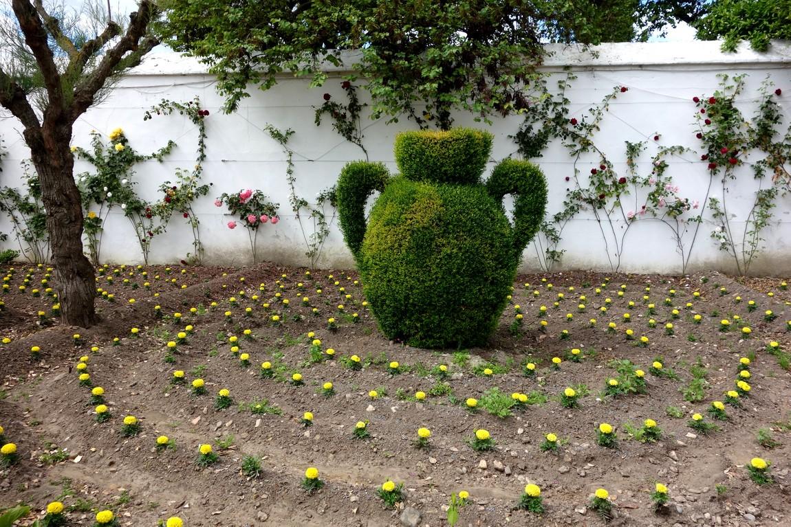 Сад Алькасар в Кордове