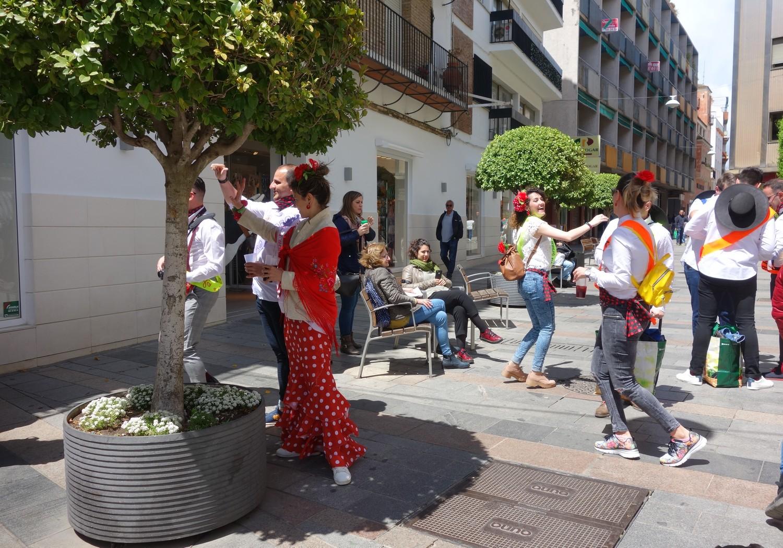 Кордова - праздник на улицах