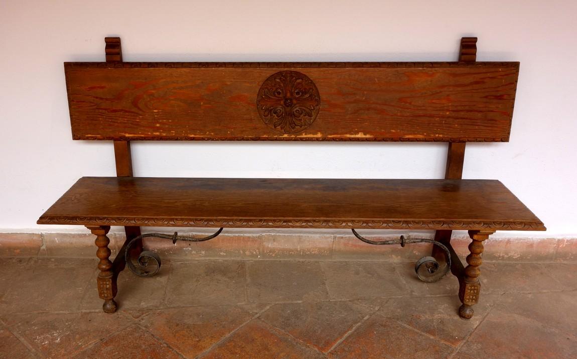 Дворец Мондрагон - Ронда - скамья