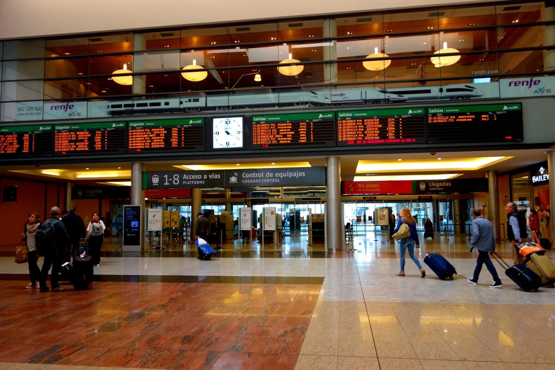 Вокзал Малага (Испания)