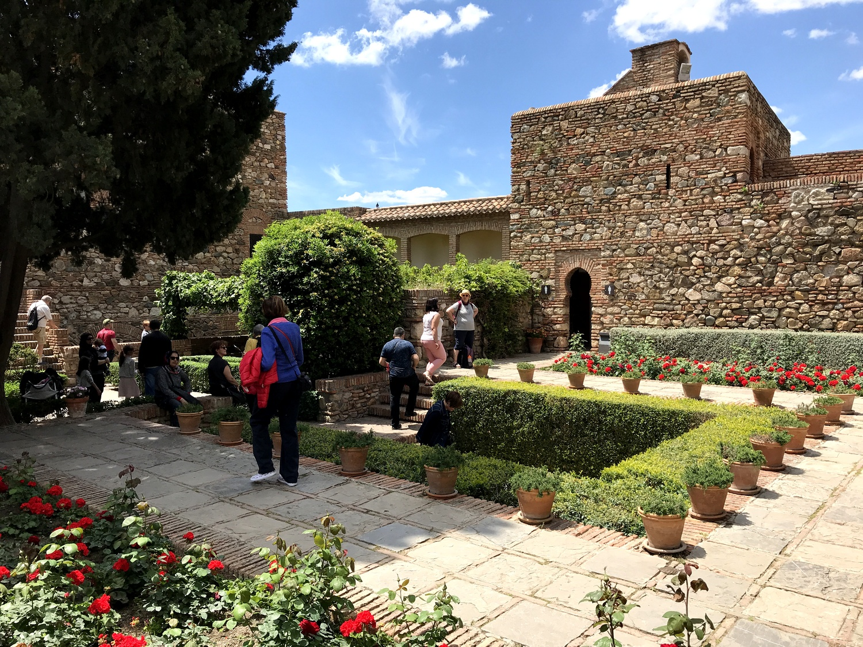 Альмерийская крепость Алькасаба