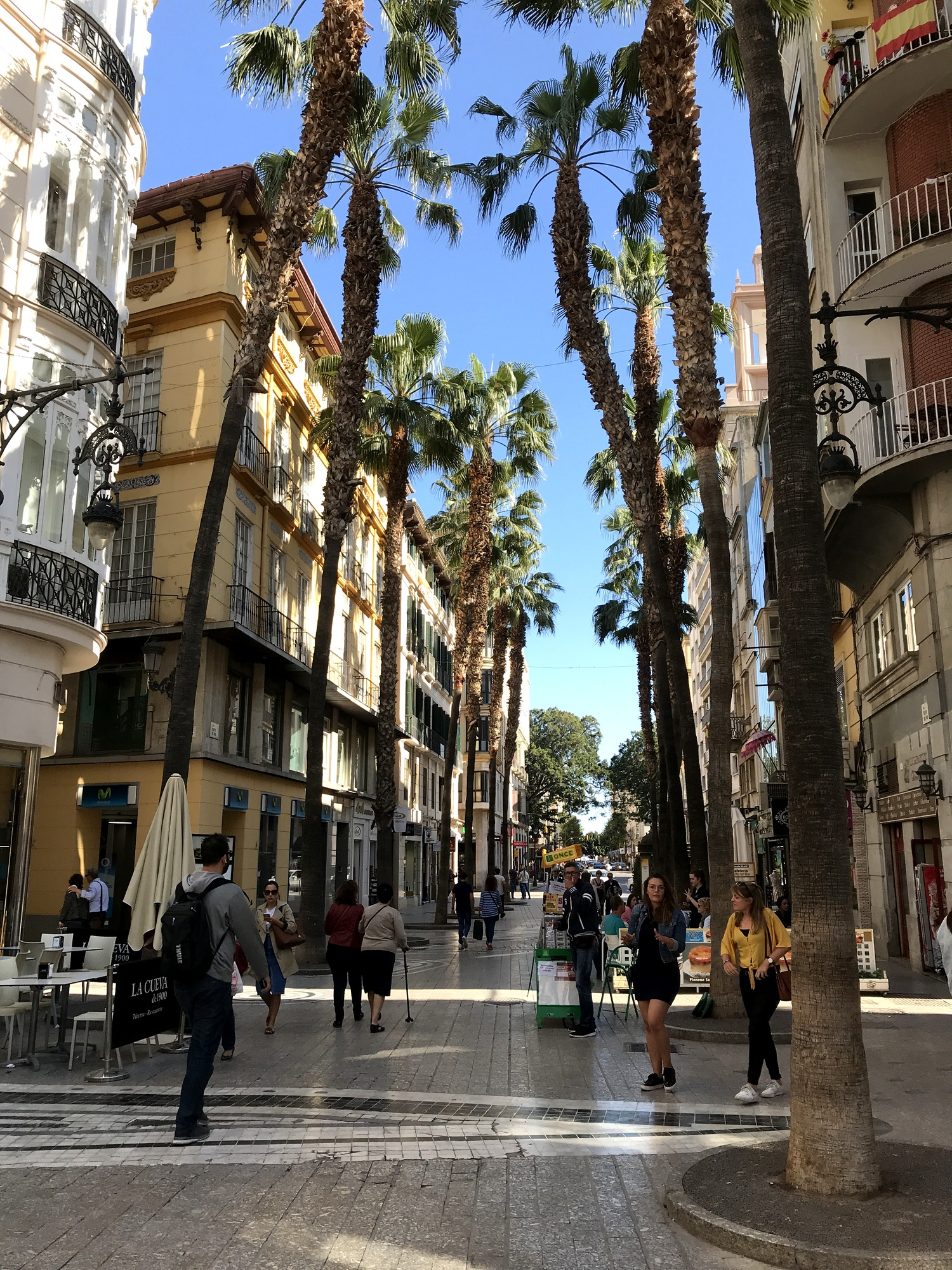 Малага в Испании