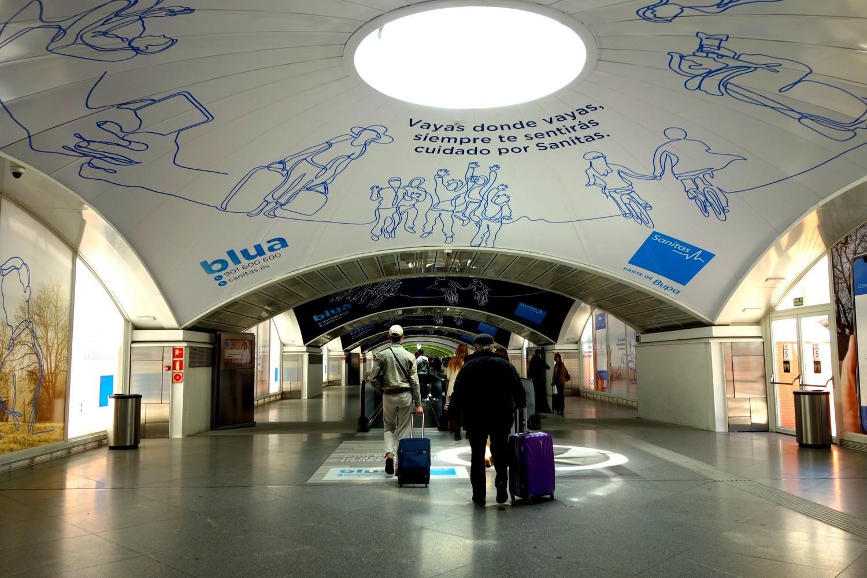 Вокзал в Мадриде