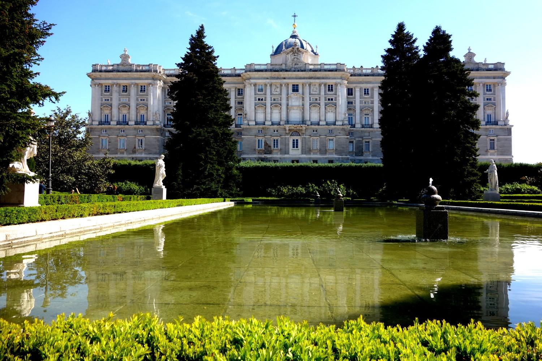 Мадрид - королевский дворец