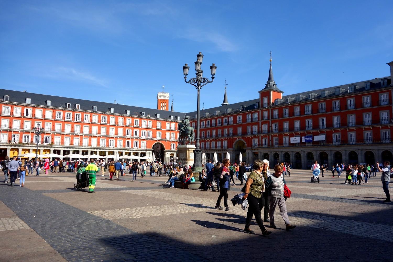 Мадрид - площадь Пласа Майор